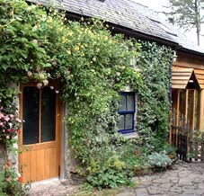 Cottage accommodation - exterior