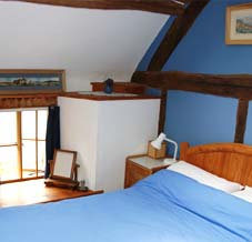 Granary accommodation - bedroom